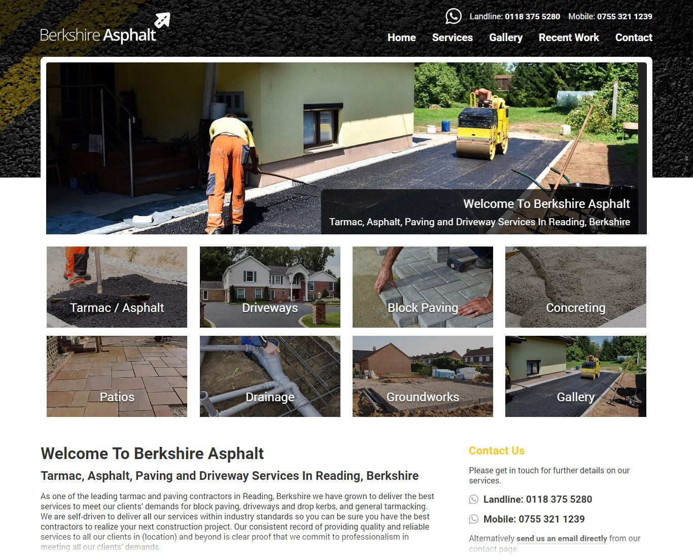asphalt-company-reading-website-design