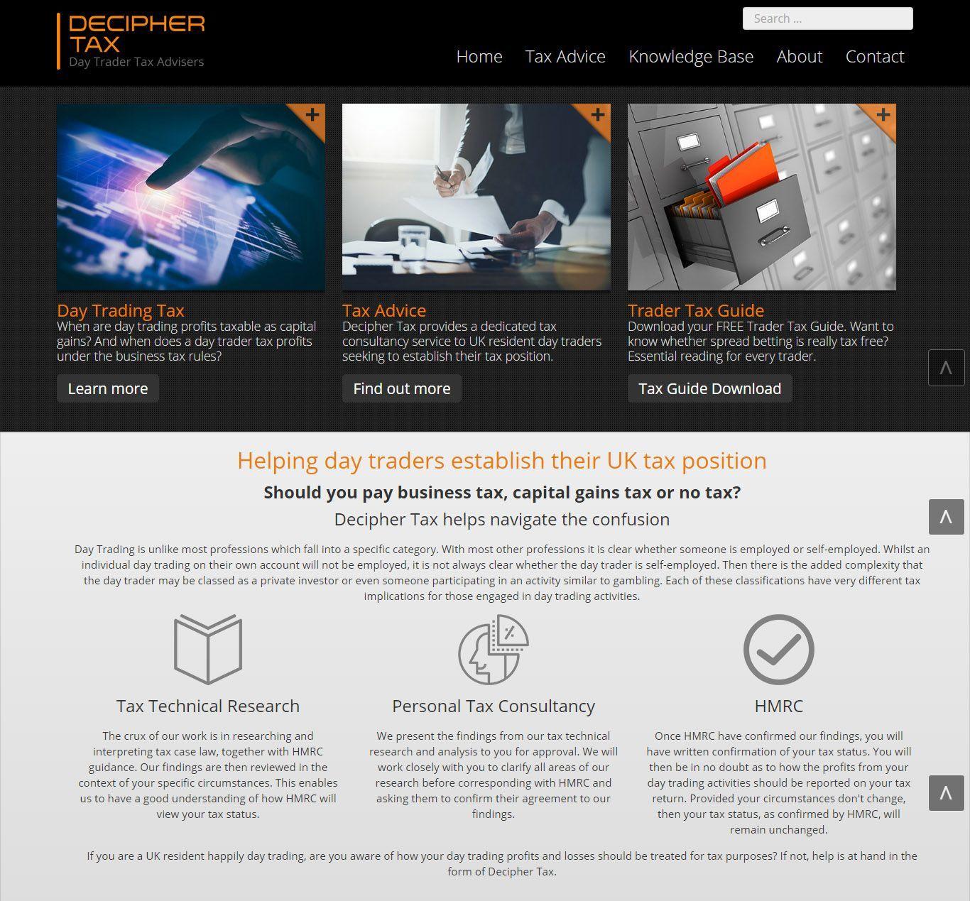 decipher-tax-web-design-berkshire