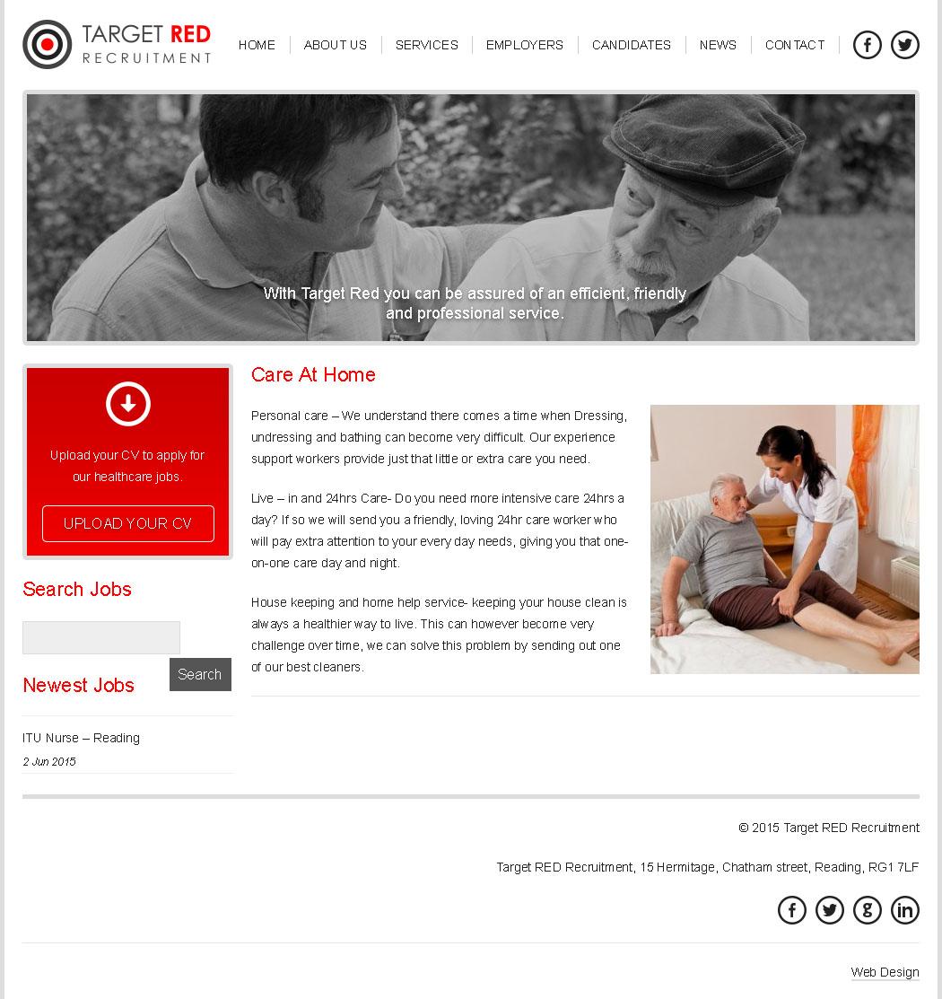 target-red-website-design-portfolio