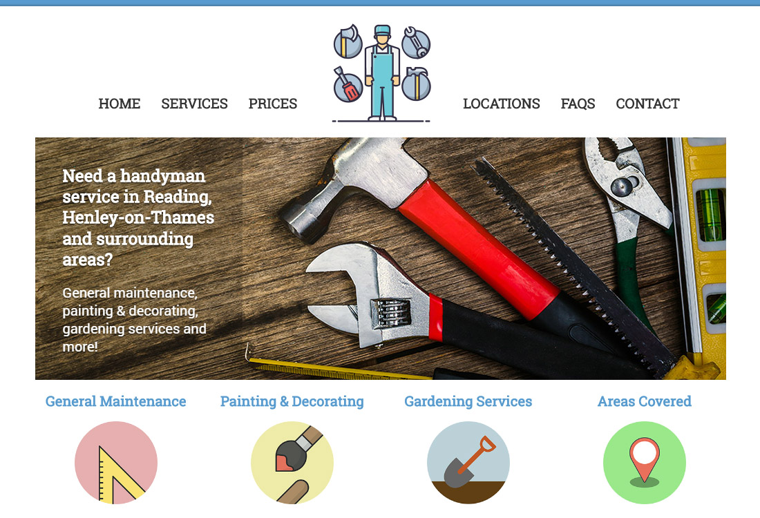 website-design-for-handyman-in-reading-berkshire