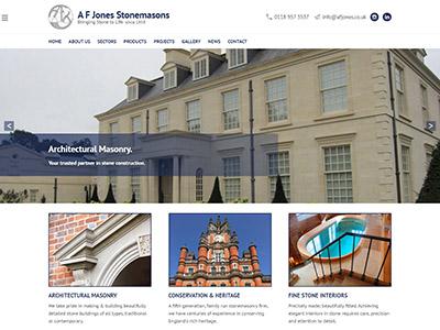 afj web design for portfolio