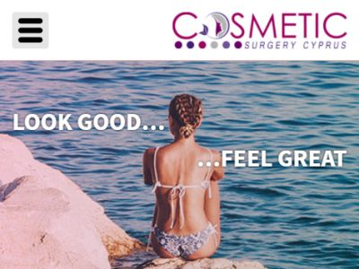 cosmetic surgery responsive website design 3