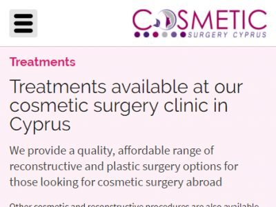 cosmetic surgery responsive website design 4