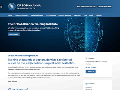 dr bob web design