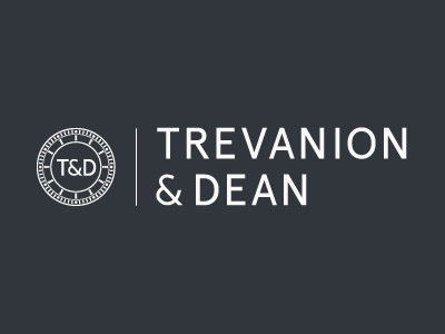 ecommerce website for trevanion and dean