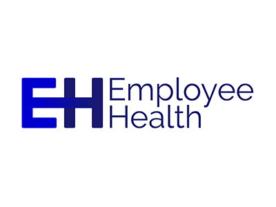 employee health reading logo and web design