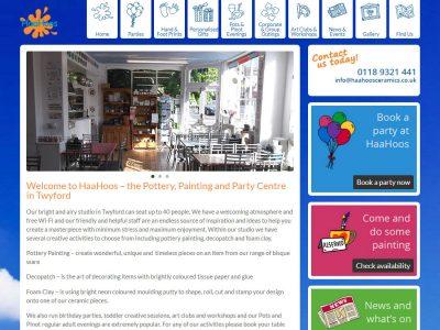 haahoos website design berkshire