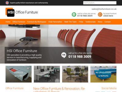 hsi logo branding website design