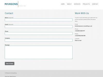mansons consultants reading web design 03