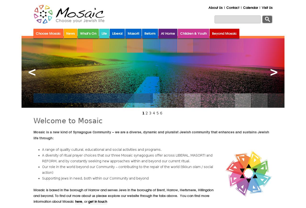 responsive web designer reading berkshire - mosaic website design