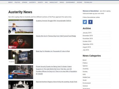 newsadviser wordpress news website custom blog