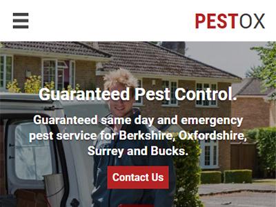 pestox web design mobile 1