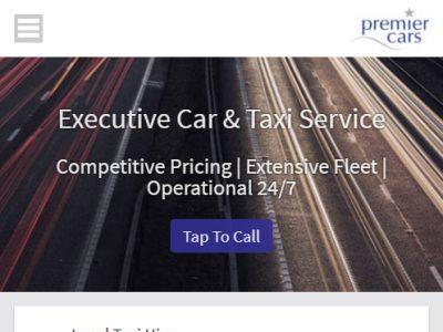 premier cars reading website design portfolio 2