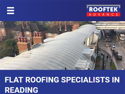 rooftek responsive website mobile 1