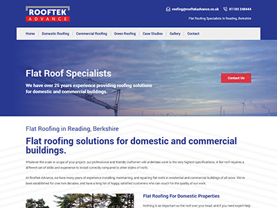 rooftek web design and seo