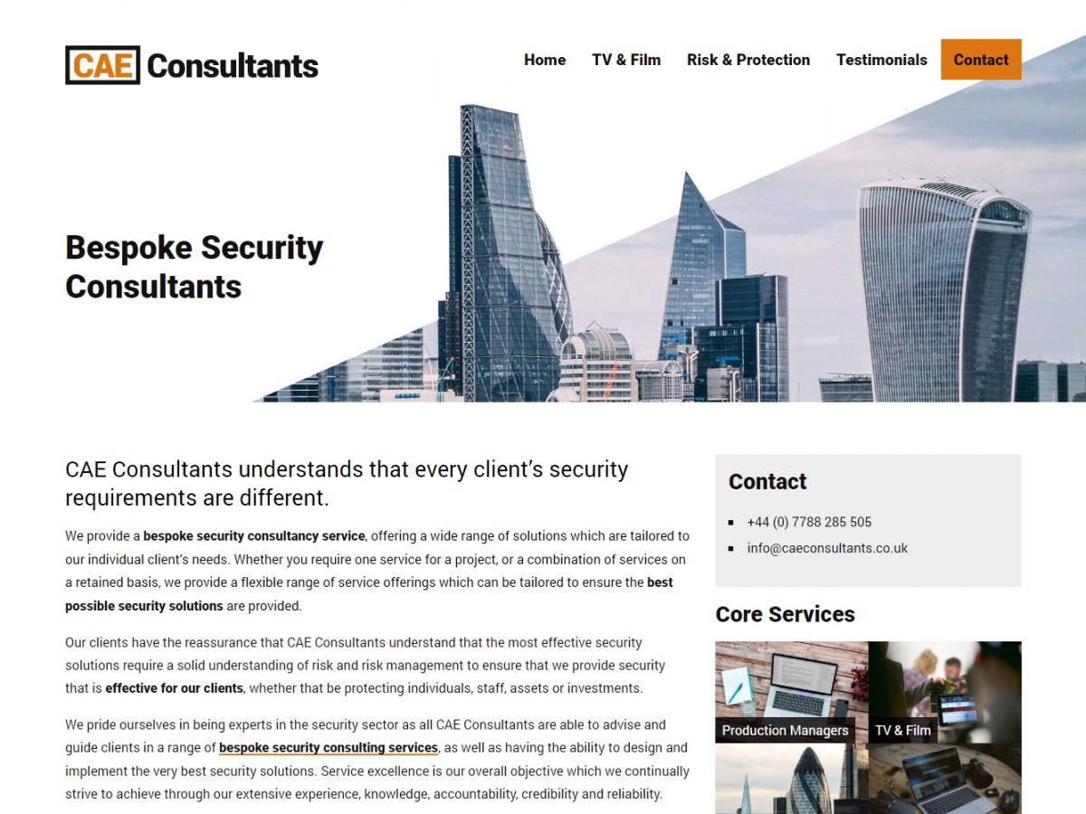 security consultancy logo branding web design 02