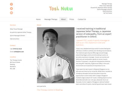 tosh wordpress web design reading 2