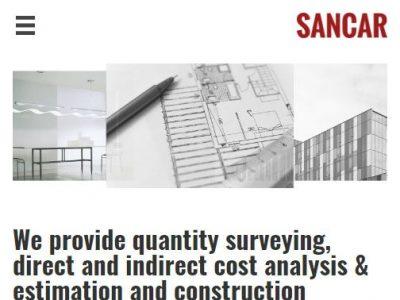 web design for sancar consultancyl in reading berkshire(2)