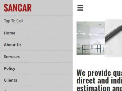 web design for sancar consultancyl in reading berkshire(3)