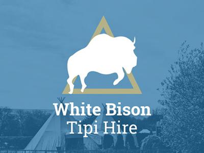 white bison logo web design seo reading