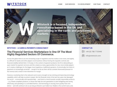 witstock website design seo reading berkshire